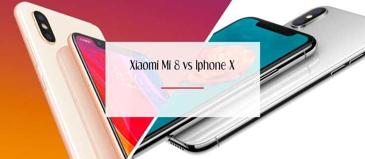 Xiaomi Mi 8 Vs Iphone X: cara a cara